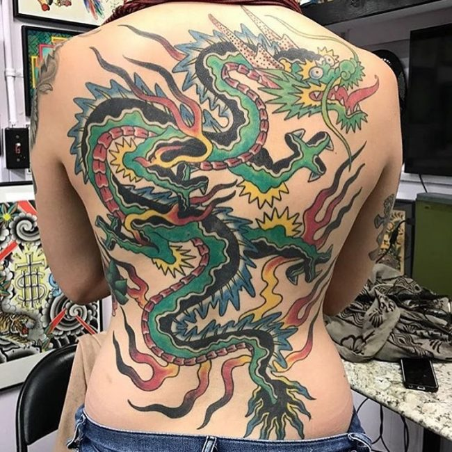 Dragon tattoo_