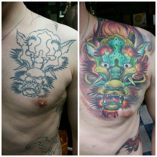 Dragon tattoo_