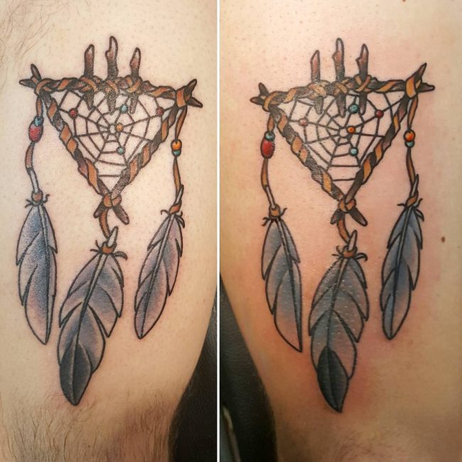 Dreamcatcher Tattoo_