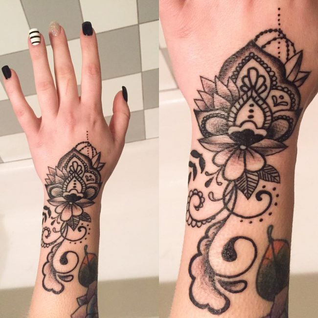 75+ Best Hand Tattoo Designs - Designs & Meanings 2019