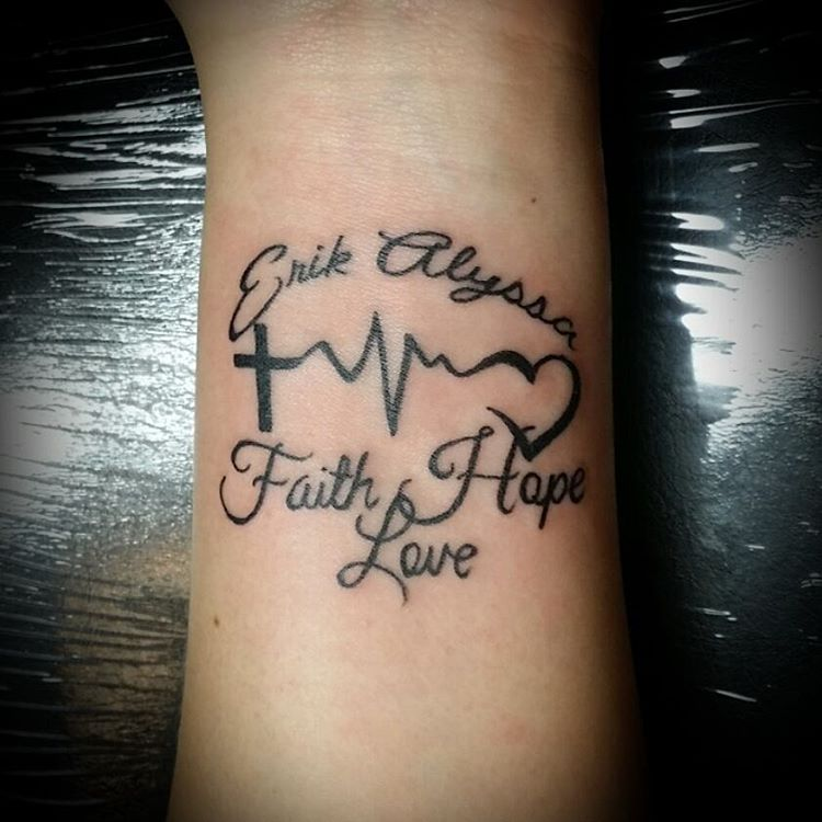 4f4a03369 30 Heartbeat Tattoo Designs & Meanings - Feel Your Own Rhythm
