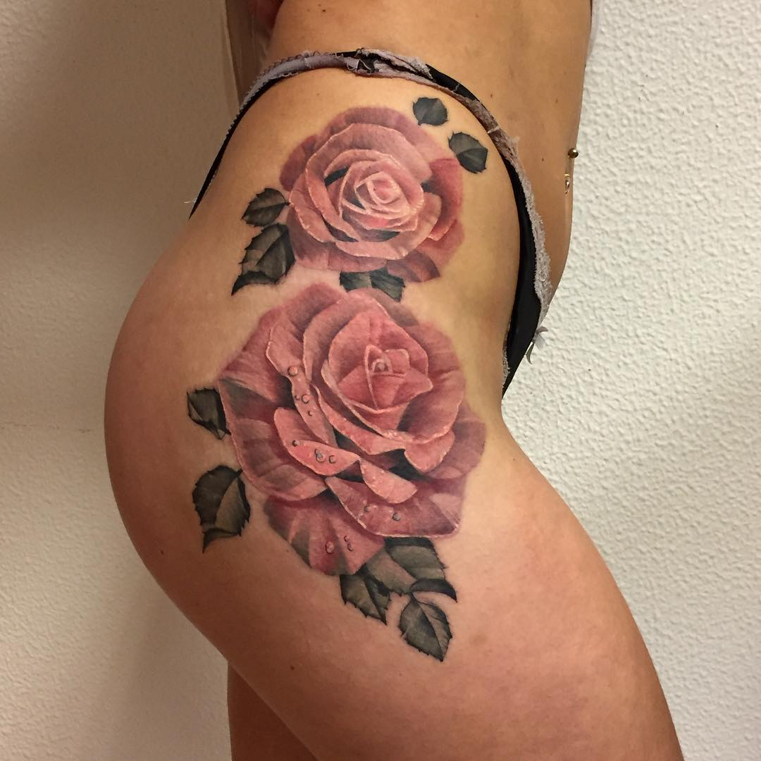 105 best hip tattoo designs meanings for girls 2018 for Can you not give blood if you have a tattoo