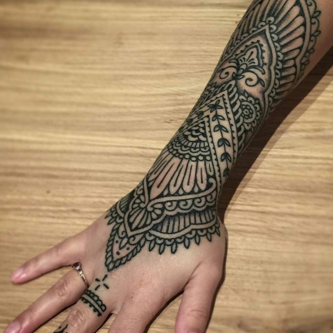 Indian Tattoo_