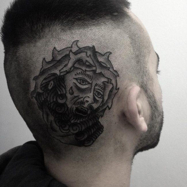 Jesus Christ Tattoo