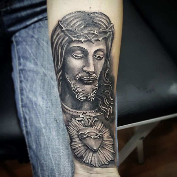 55+ Best Jesus Christ Tattoo Designs & Meanings - Find Your Way (2019)