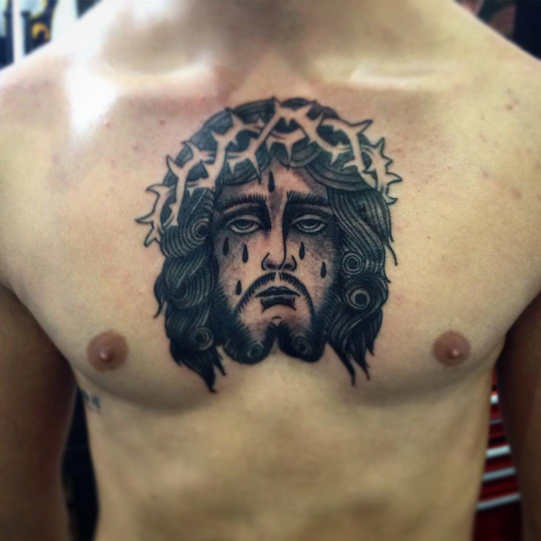 55+ Best Jesus Christ Tattoo Designs & Meanings
