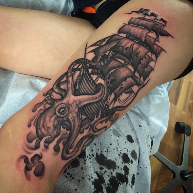 Kraken Tattoo