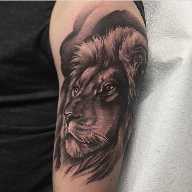 110 best wild lion tattoo designs meanings choose for Aztec lion tattoo meaning