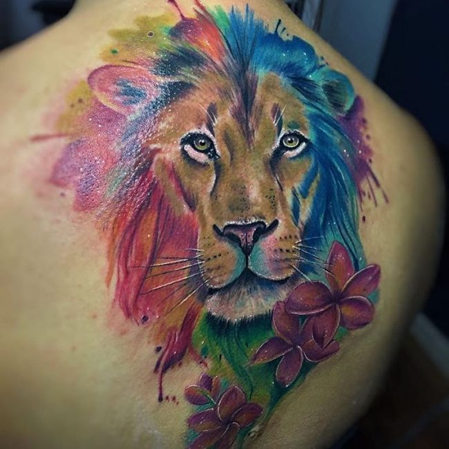 Lion Tattoo_