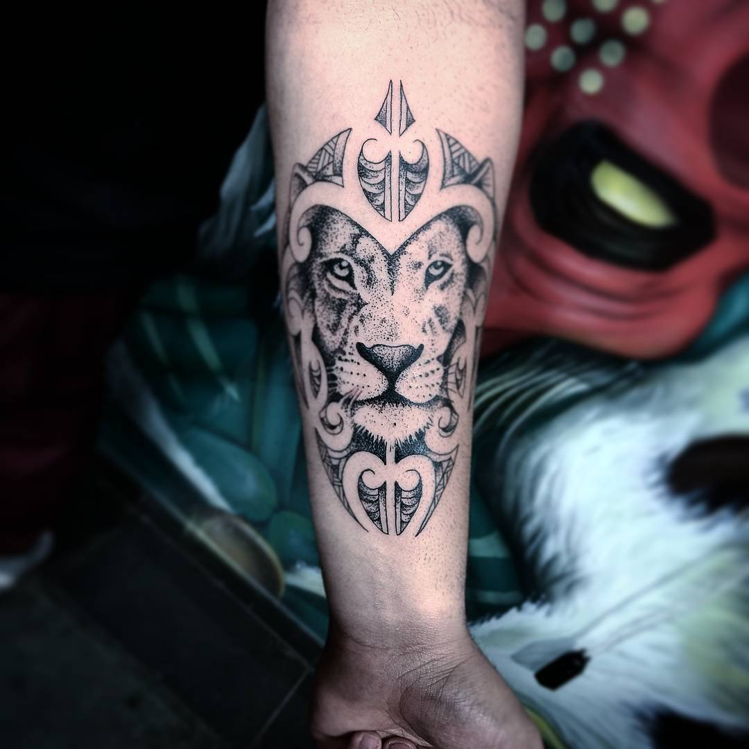 110 best wild lion tattoo designs meanings choose for Tattoo photos 2017