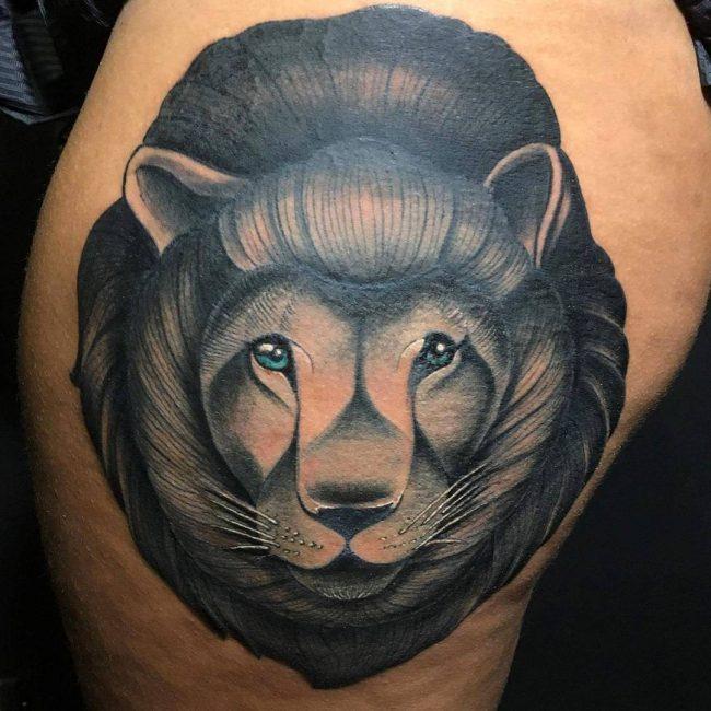 Lion Tattoo_
