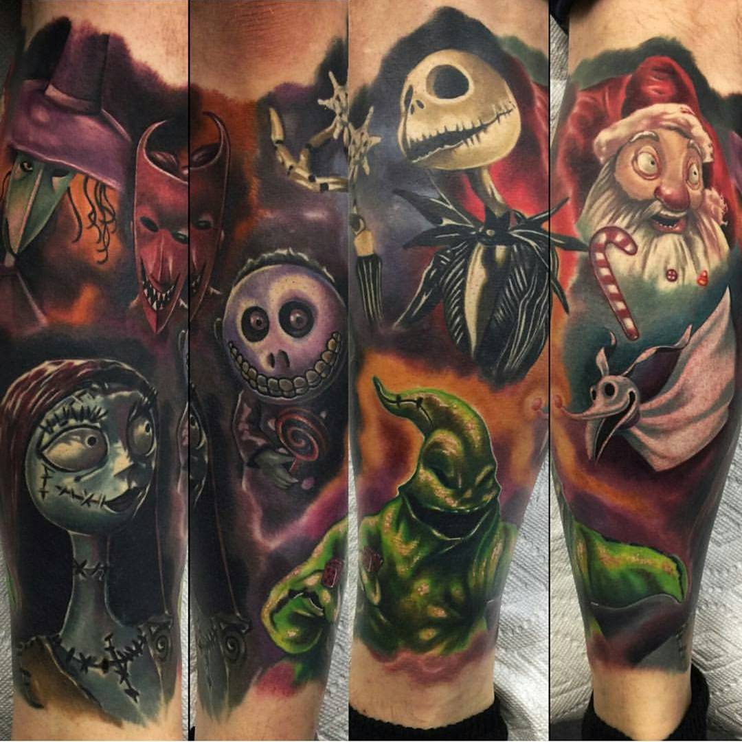 nightmare before christmas tattoos - Nightmare Before Christmas Pics