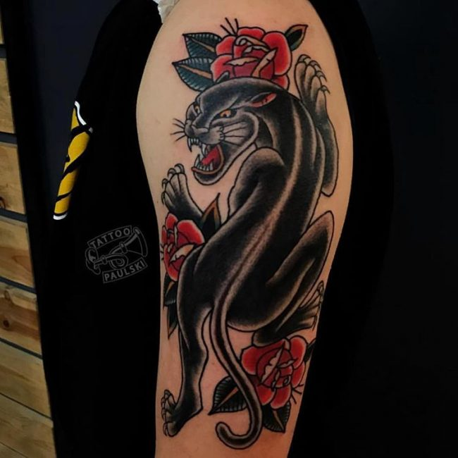 Panther Tattoo