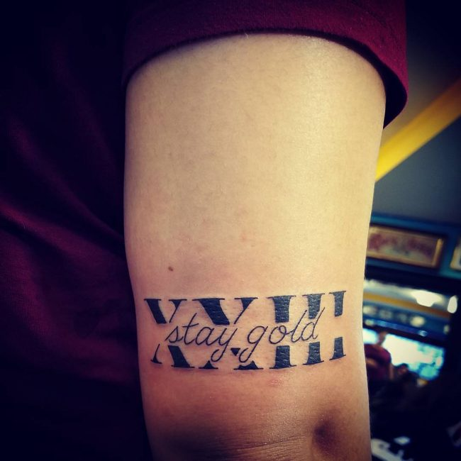70+ Best Roman Numeral Tattoo Designs & Meanings