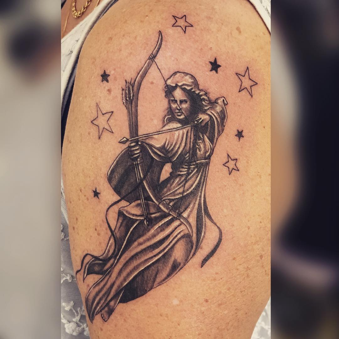 30 best sagittarius tattoo designs types and meanings 2018