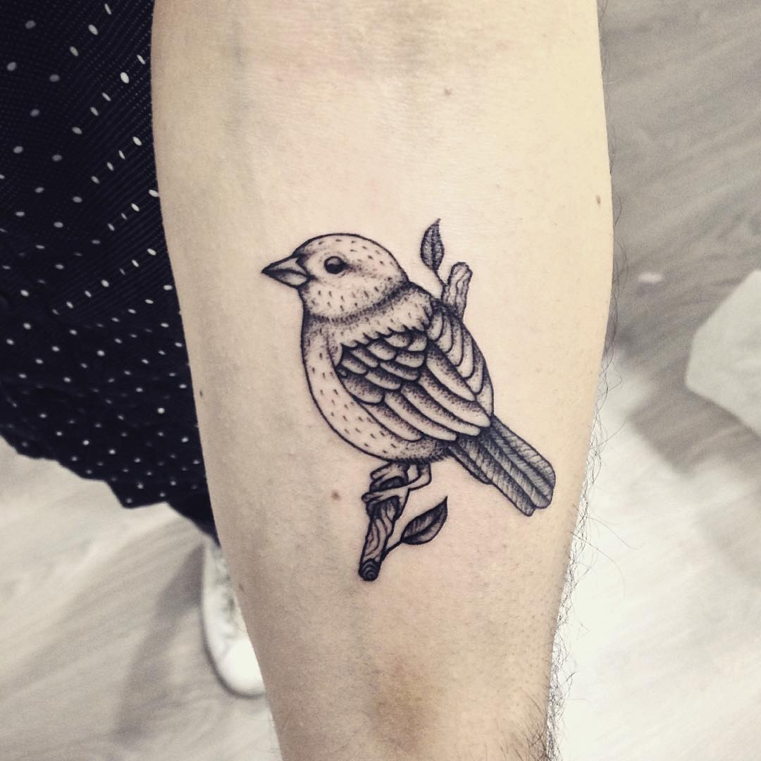 65+ Cute Sparrow Tattoo Designs & Meanings - Spread Your