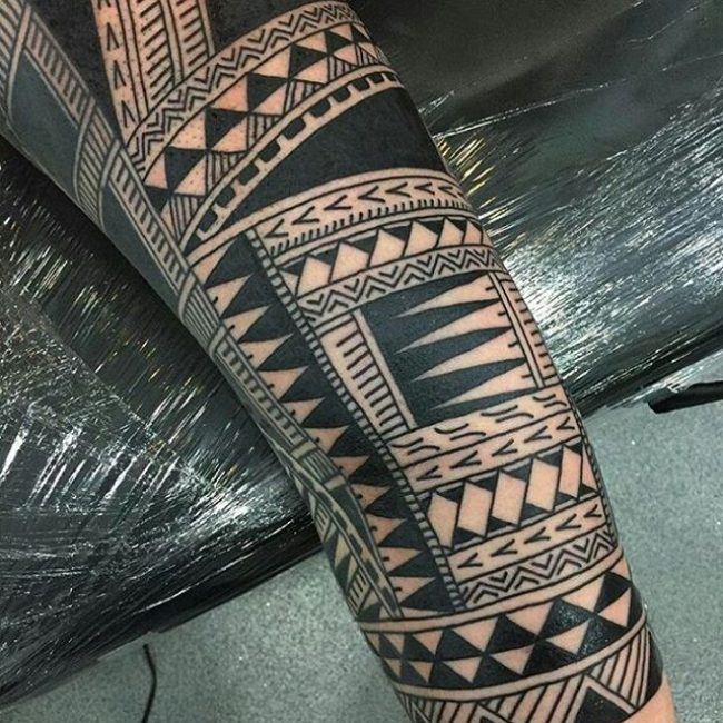 Traditional Tribal Tattoo_