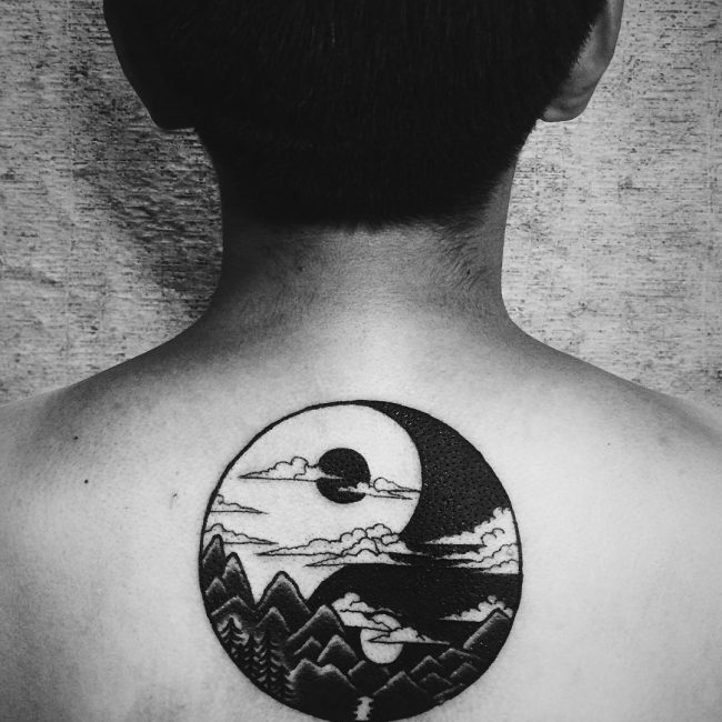 115 best yin yang tattoo designs meanings chose yours for Yin yang meaning tattoo