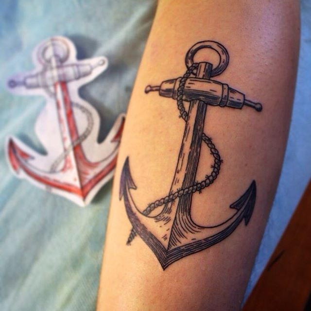 70+ Strong Anchor Tattoo Designs And Meaning