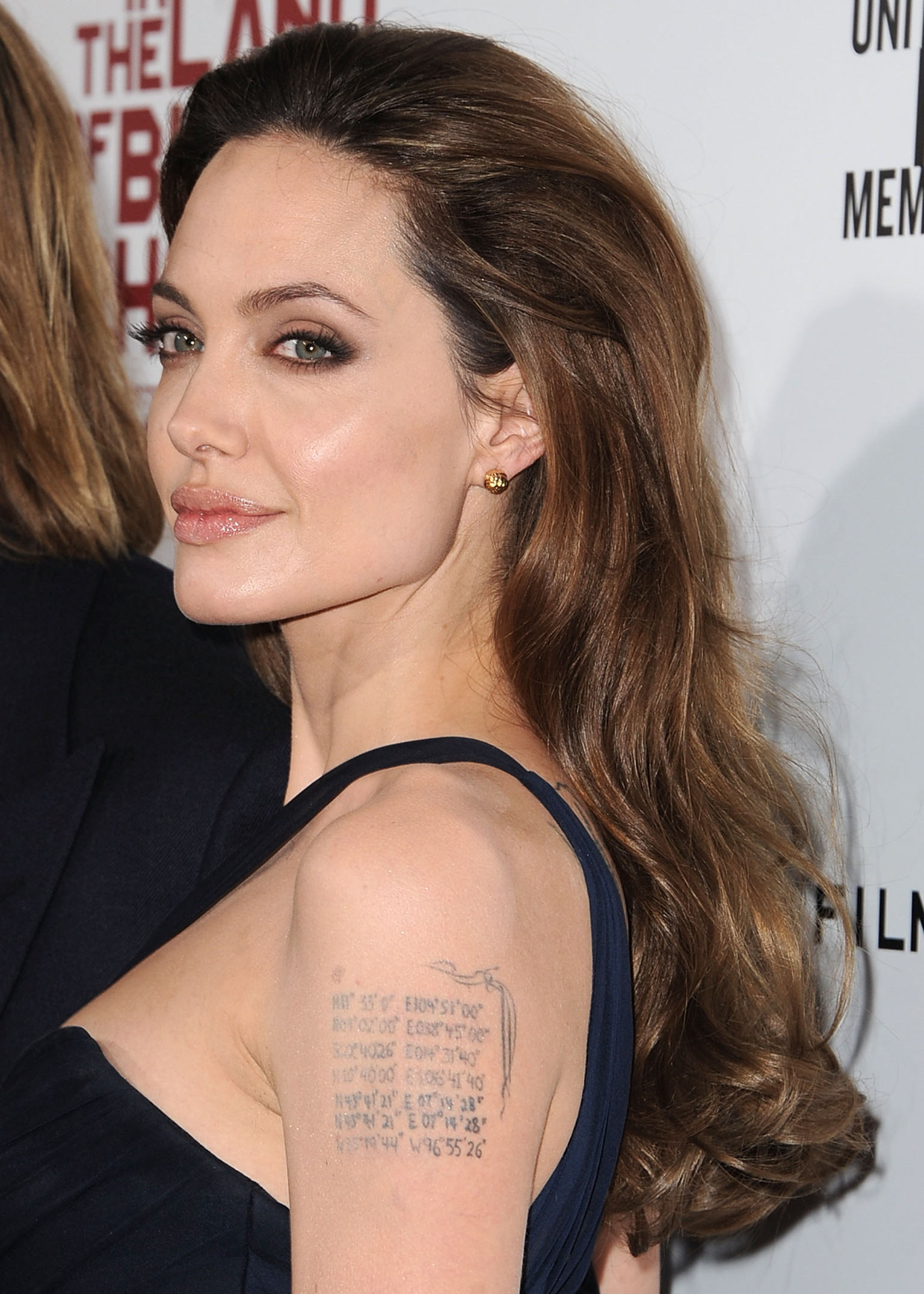 Angelina Jolie Look Using All Drugstore Makeup: Amazing And Daring Angelina Jolie Tattoo Designs And Meaning