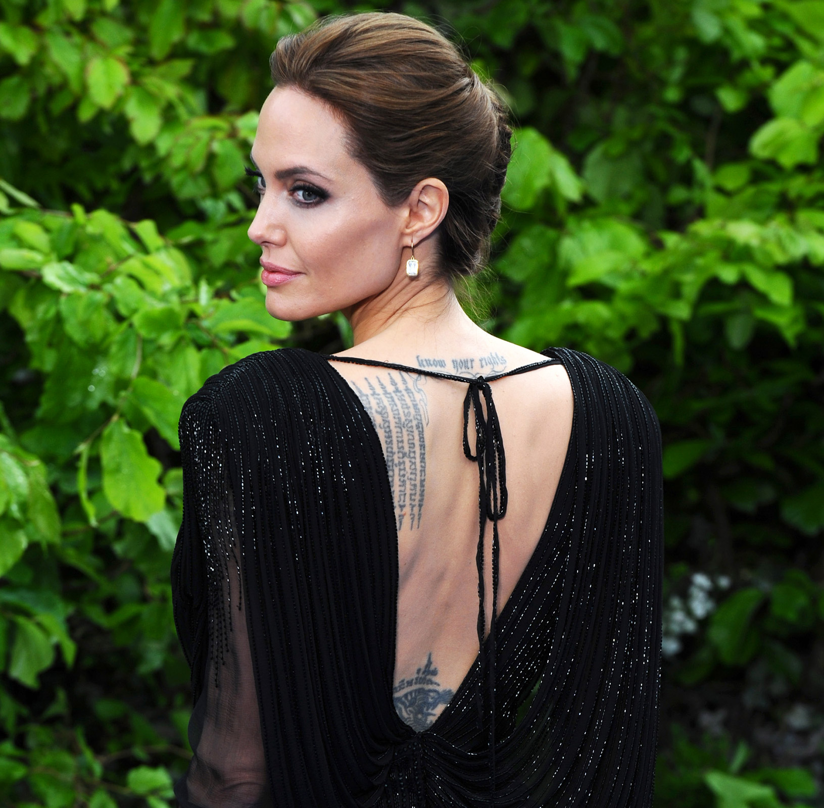 Amazing and Daring Angelina Jolie Tattoo Designs and Meaning Angelina Jolie
