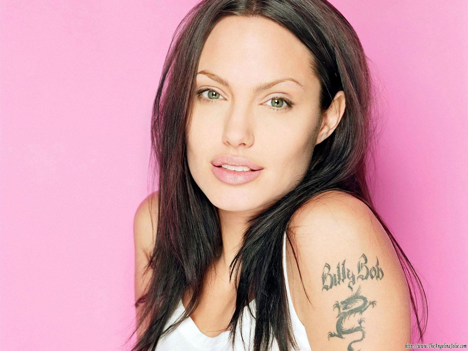 Angelina Jolie Tattoos 2019