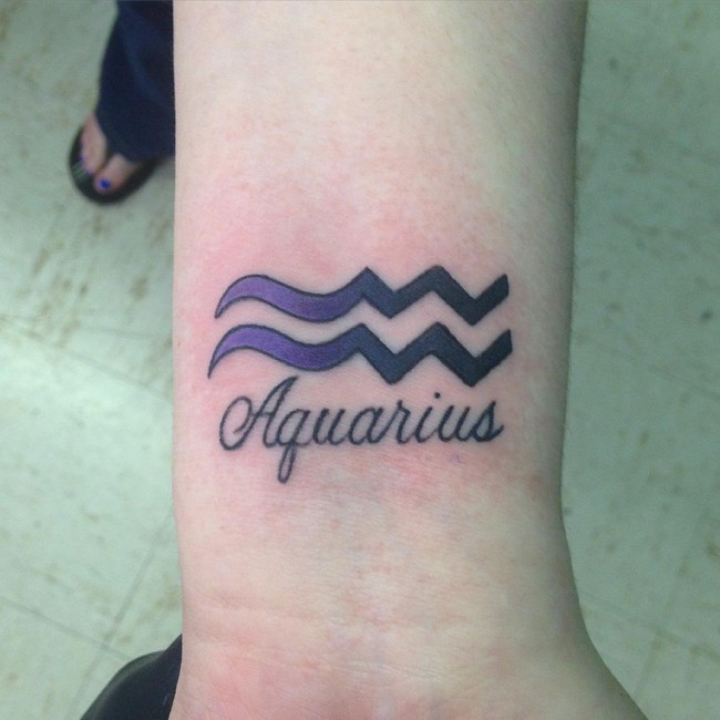 40 Best Aquarius Tattoo Designs And Ideas The Eleventh Sign 2019