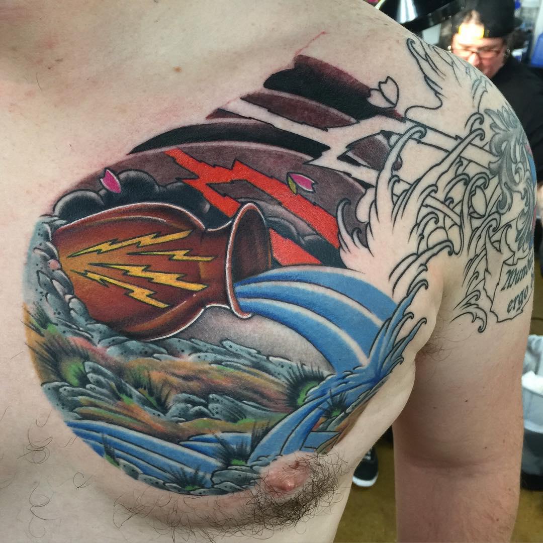 40 Best Aquarius Tattoo Designs And Ideas The Eleventh Sign 2019