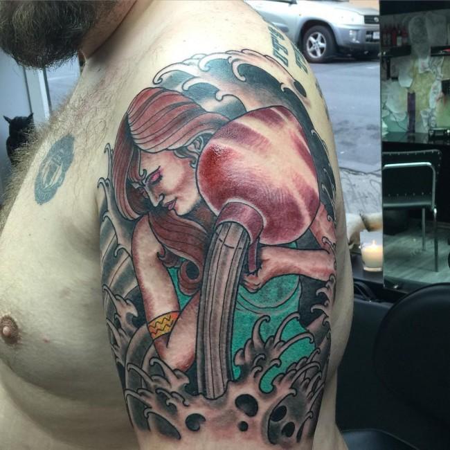 Aquarius tattoo