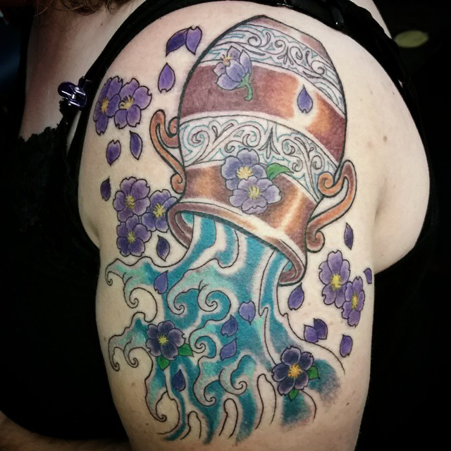 Aquarius tattoo