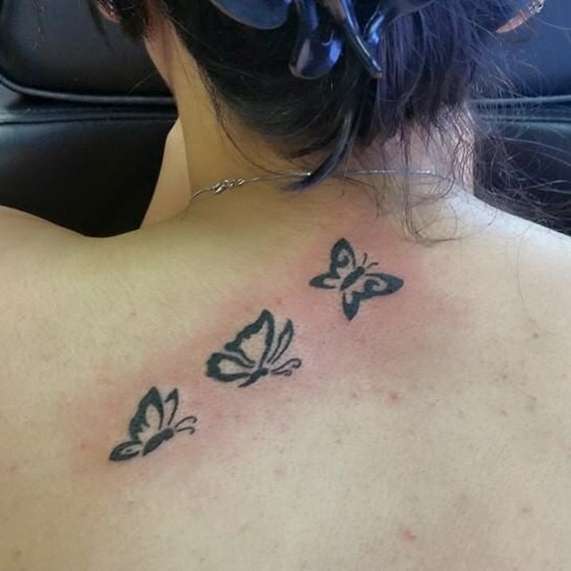 101 Pretty Back Of Neck Tattoos: 45+ Back Of The Neck Tattoo Designs & Meanings -Way To The