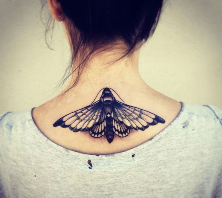 45 Back Of The Neck Tattoo Designs Meanings Way To The Mind 2018
