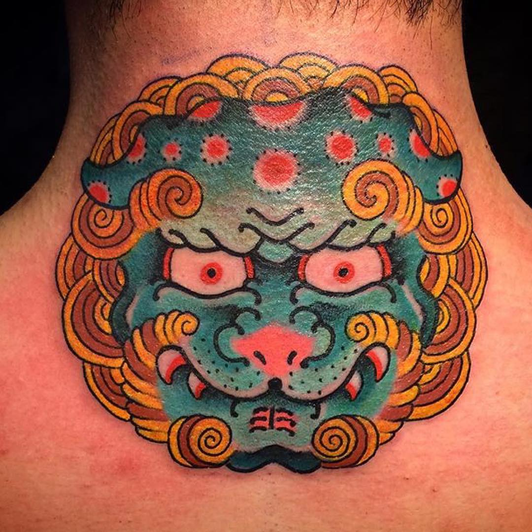 6541c00a1e811 45+ Back of the Neck Tattoo Designs & Meanings -Way To The Mind(2019)