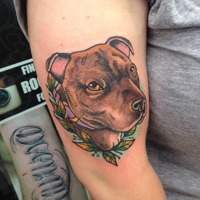 bicep tattoos