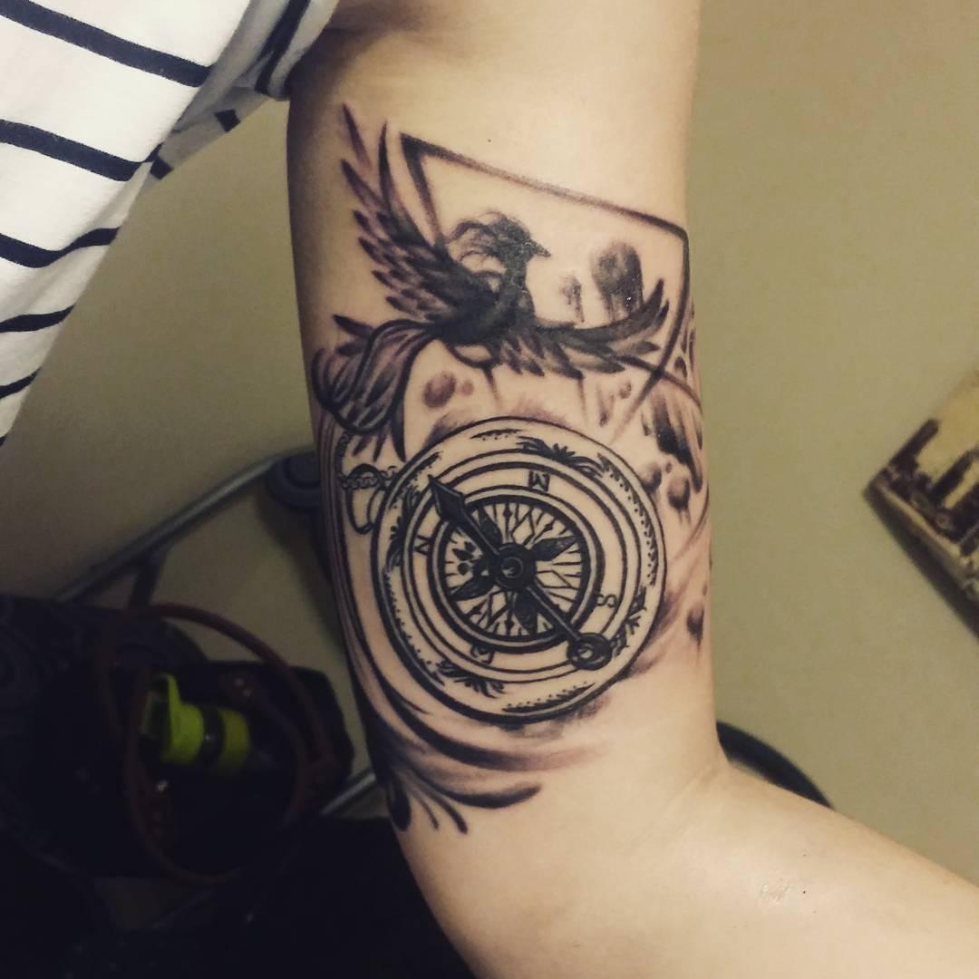 115 best inner bicep tattoo ideas for men designs for Tribal bicep tattoos