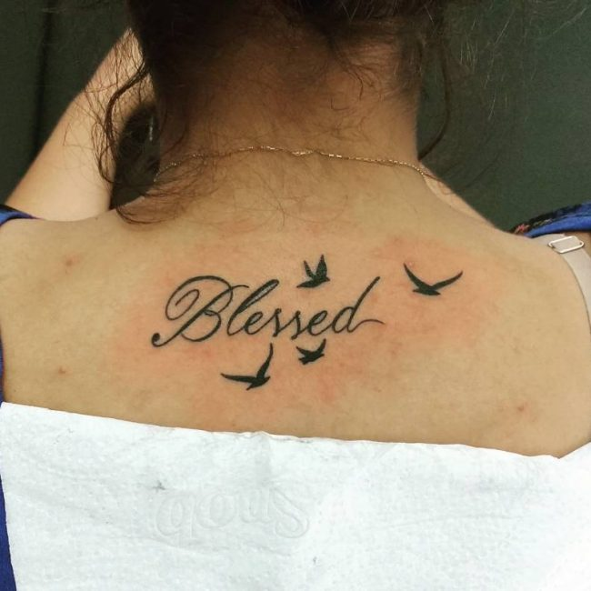 blessing tattoos