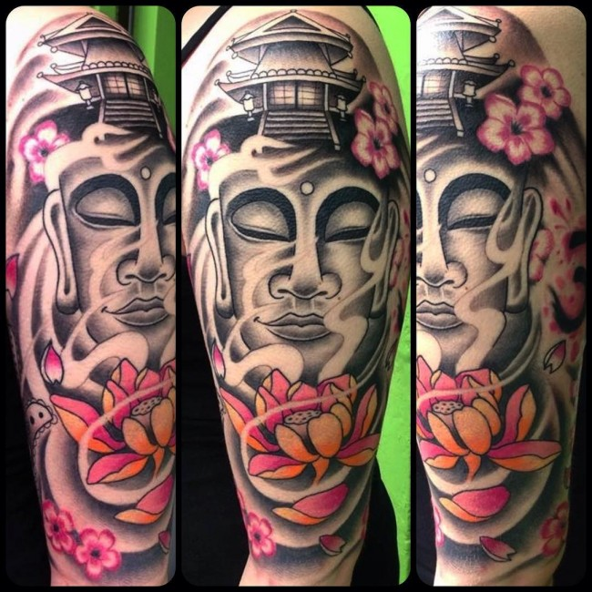 130 best buddha tattoo designs meanings spiritual guard 2018. Black Bedroom Furniture Sets. Home Design Ideas