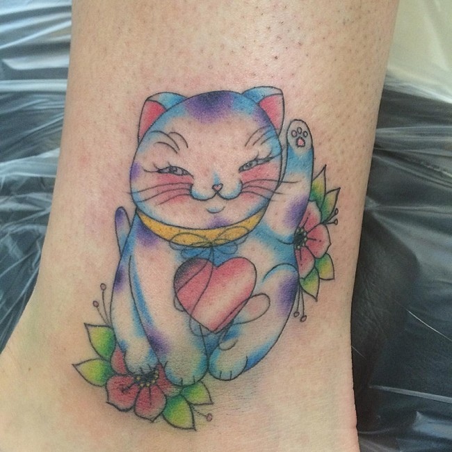 cat tattoo (3)
