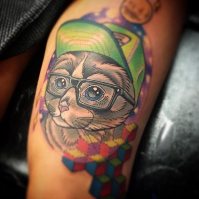 cat tattoo (4)