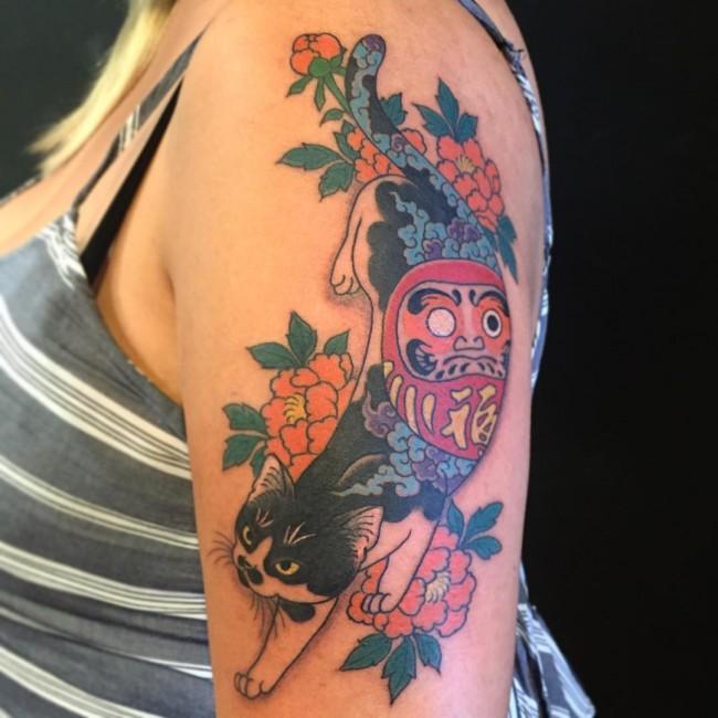 cat tattoo (6)