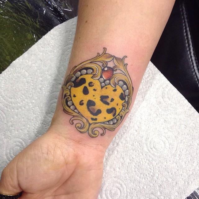 Cheetah Print Tattoos