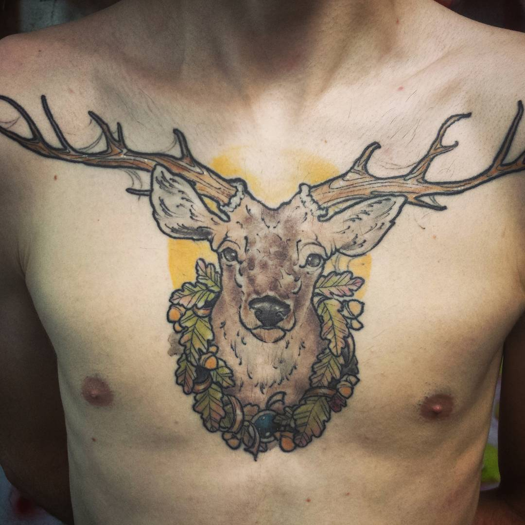 120+ Best Deer Tattoo Meaning And Designs