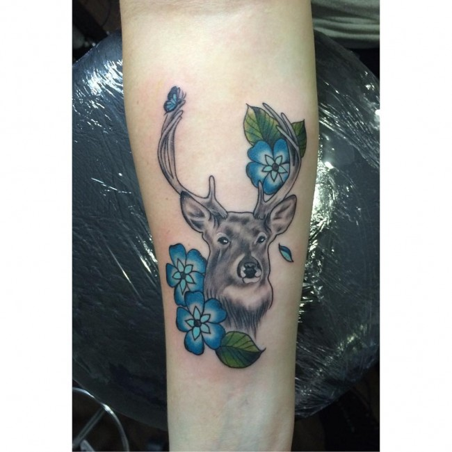 deer tattoos (1)