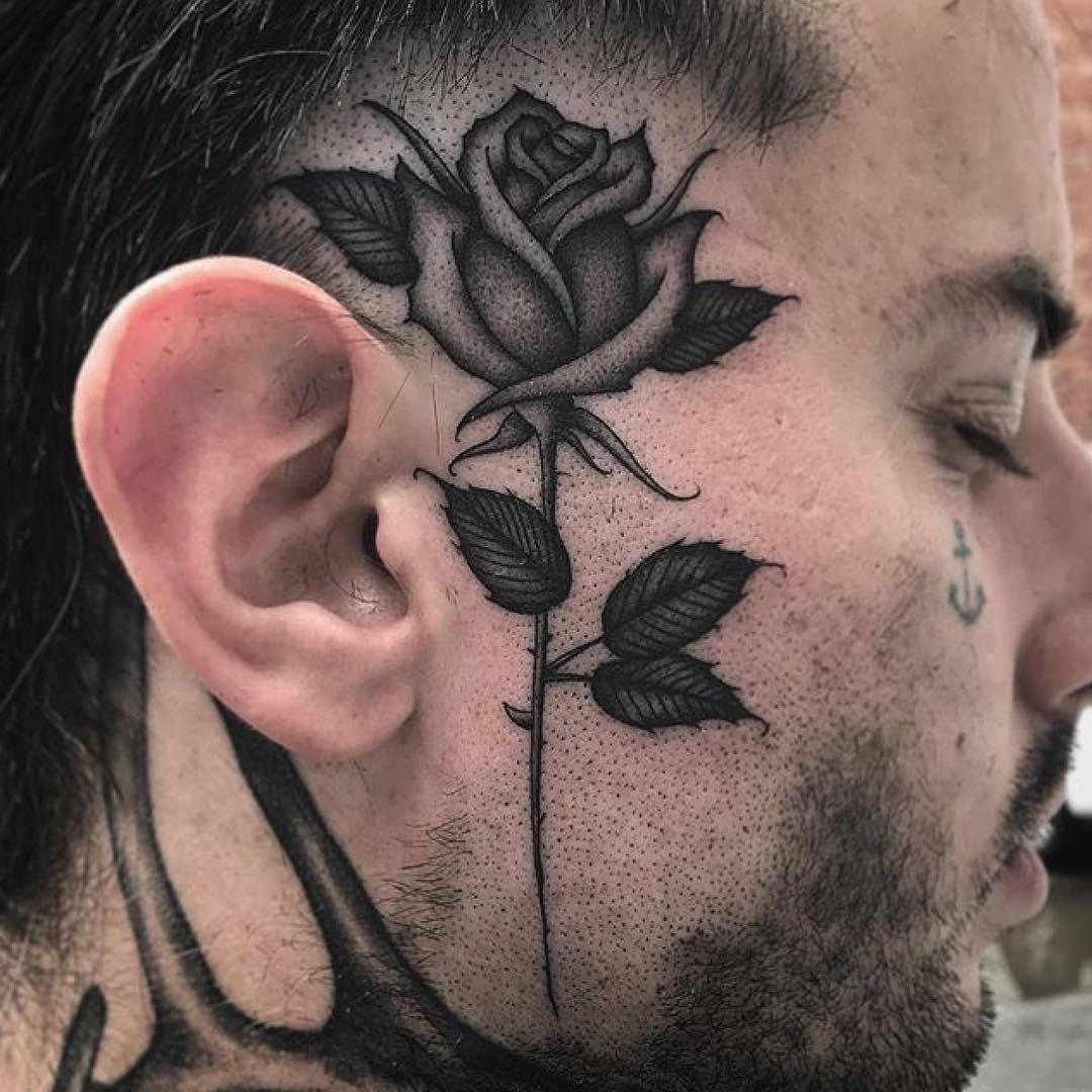 65+ Best Face Tattoo Designs & Ideas