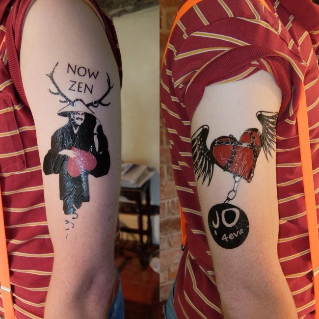 fake tattoo