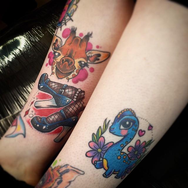 giraffe tattoos