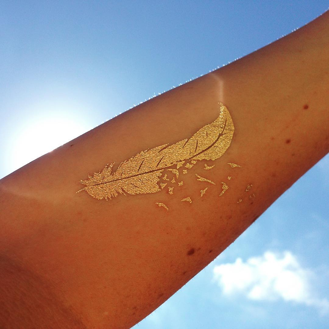 50 Gold Tattoo Designs And Ideas For Women - Feel Like a ...