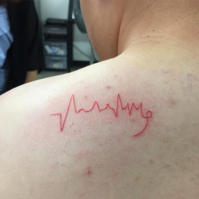 Heartbeat Tattoo
