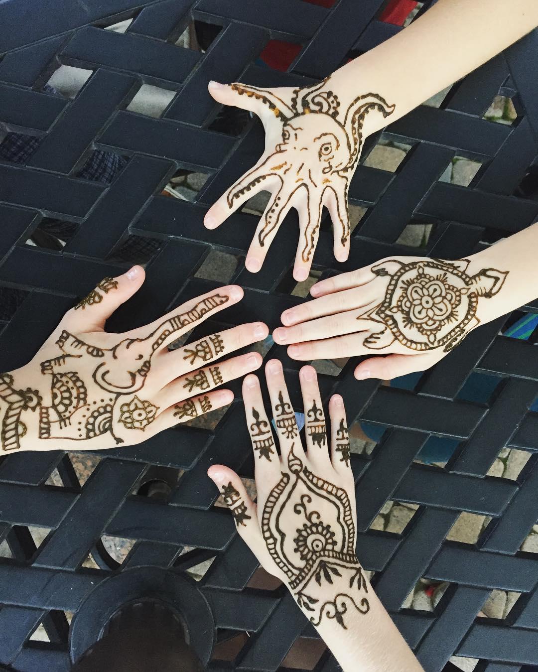 How Long Do Henna Tattoos Last
