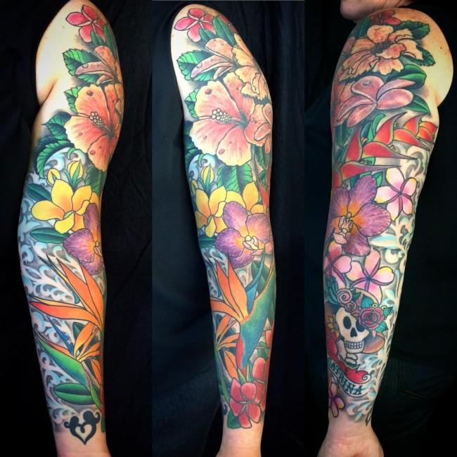 hibiscus tattoo (2)